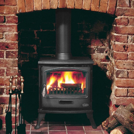 [Image]Tiger Classic Multifuel Stove 6kW